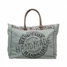 Handmade Weekender Print Bag
