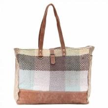 Color Chunk Weekender Bag