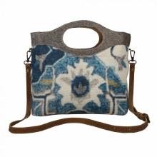 Blue Wealth Tote Bag