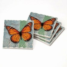Monarch Tumbled Tile Coaster
