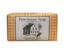 Tangerine Mint Farmhouse Soap