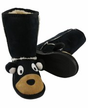 Fuzy Bear Boots