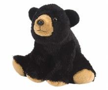 """8 """" Plush Bear Black"""