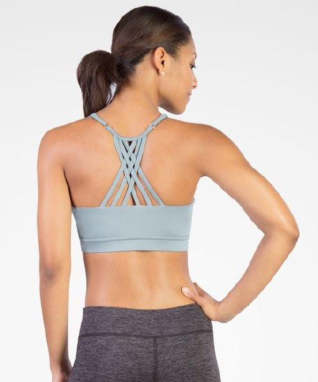 Covalent Activewear Youth Sports Bra 9020 8-10 BLK