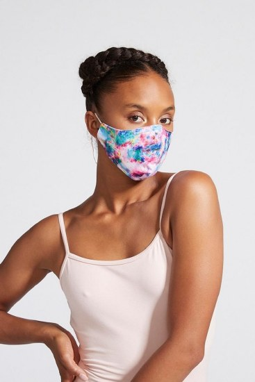 Bloch B-Safe Tie Dye Facemask A005C O/S TID
