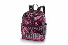 Danshuz Sequined Dance Backpack B20501 O/S HPK