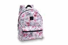 Danshuz Cheetah Floral Backpack B20513 O/S PNK