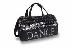 Danshuz Sequin Dance Stars Duffel B20521 O/S BLK