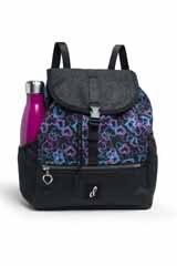 Danshuz Neon Hearts Backpack B21510 O/S BLK
