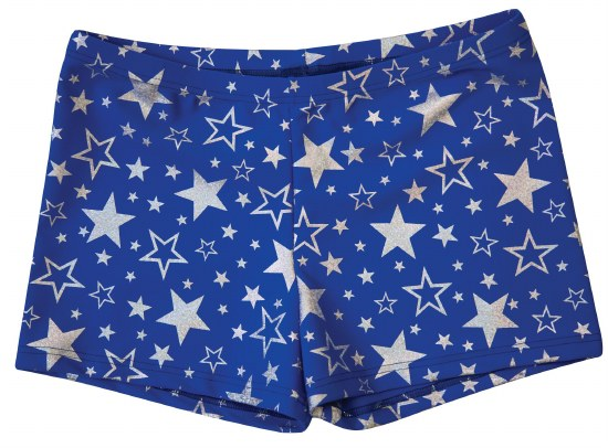 Body Wrappers Printed Shorts 700 SM SVS