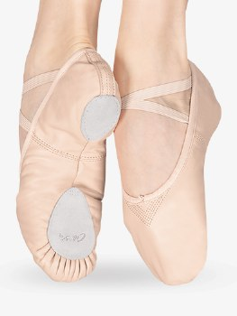 Capezio Split Sole Leather Ballet Shoe 2033 LPK 7