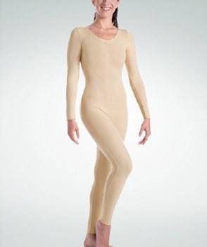 Body Wrappers Long Sleeve Unitard MT217 XSM NUD