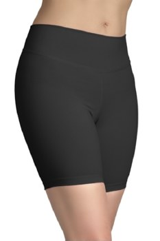 Covalent Activewear Adult Bike Length Shorts 5107 LG BLK