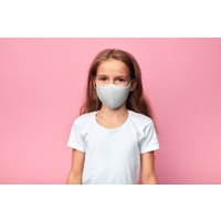 Bloch B-Safe Facemask A001C CHILD WHT