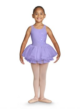 Bloch Camisole Tutu Leotard CL4901 4-6 LLC
