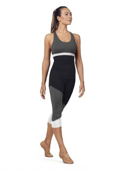 Bloch Capri Leggings FP5195 XS BLK