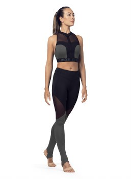 Bloch Panelled Leggings FP5196 XS BLK