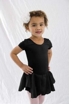 Basic Moves Short Sleeve Dress  5492GU 2-4 BLK