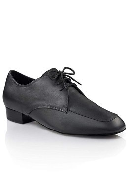 "Capezio Leather 3/4 "" Men's Ballroom Shoe BR116 BLK 8"
