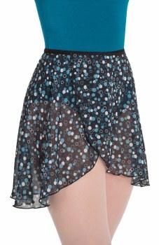 Body Wrappers Chiffon Printed Skirt 980 M/L BBM