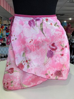 Body Wrappers Chiffon Printed Skirt 980 P/S LCF