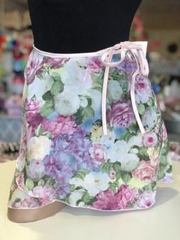 Body Wrappers Chiffon Printed Skirt 980 S/M LUB
