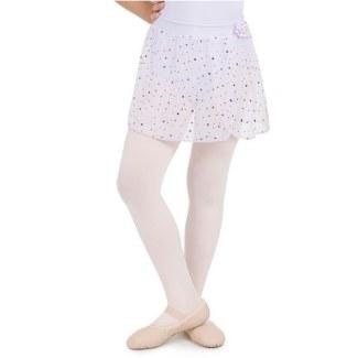 Capezio Pull On Skirt w/Polka Dots 11530C 4-6 LAV