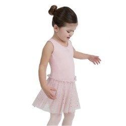 Capezio Tank Dress w/ Glitter Skirt 11532C 2-4 PNK