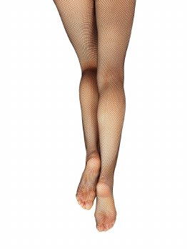 Capezio Studio Basic Fishnet 3407 S/M BLK