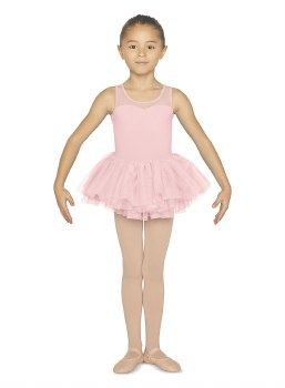 Bloch Tank Skirted Leotard CL5555 8-10 CDP