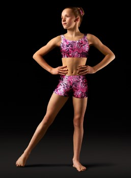 Bloch Printed Shorts LEOS GB150C 2-4 UTO