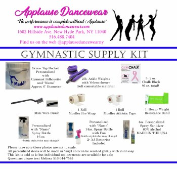 Applause Gym Supply Kit Applause Gym Kit
