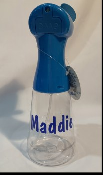 MAK Personalized Spray Bottle with Fan O/S NAME