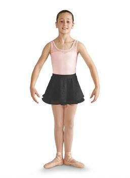 Mirella Georgette Wrap Skirt MS121C 4-6 BLK