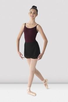 Mirella Georgette Wrap Skirt MS12 O/S BLK