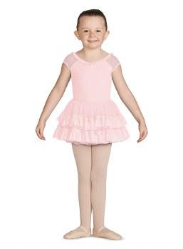 Mirella Mesh Frill Tutu Skirt MS143C 2-4 PNK
