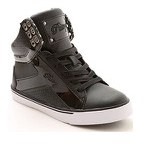 Pastry PopTart Grid Black with White Sole PA163100 BLK 5