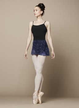 Bloch Wrap Skirt BL R9821B O/S PCF