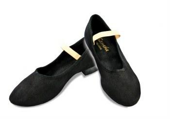 Sansha Canvas Character Shoe CL15C BLK 6