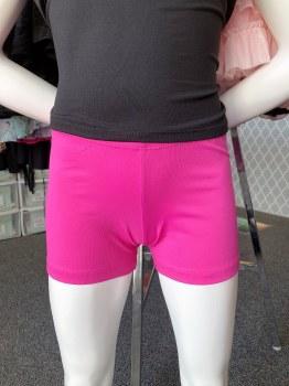 So Danca Adult Shorts SL82 SM DKPNK