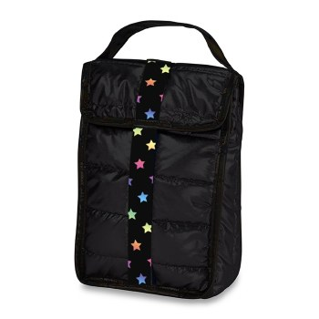 Top Trenz Puffer Insulated Snack Bag SNK-PUFB-SCATTER O/S BLK
