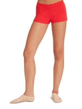 Capezio Boy Cut Low Rise Shorts TB113 X-SM RED