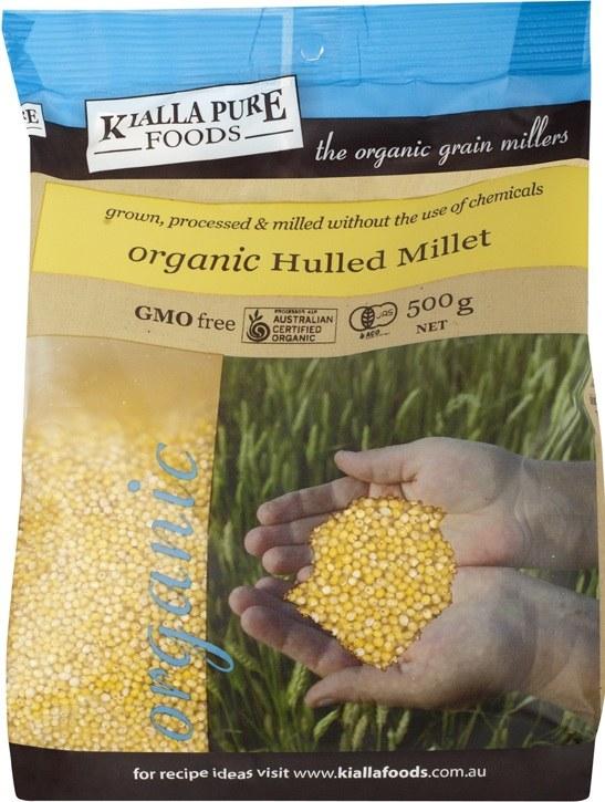 Organic Hulled millet 500g