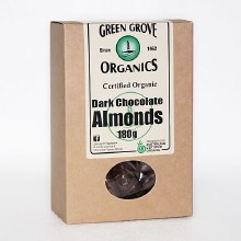 Dark Chocolate Almonds 180g