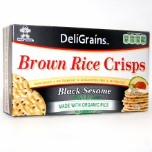 Rice Crisp Black Sesame 100g
