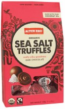 Chocolate (Organic) Sea Salt Truffles 108g