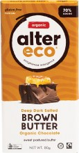Chocolate (Organic) Dark Brown Butter 80g