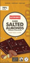 Chocolate (Organic) Dark Salted Almonds 80g