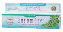 Toothpaste - Ayurvedic Fresh Mint 117g