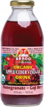 Apple Cider Vinegar Drink ACV with Pomegranate & Goji 473ml